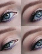 makijaż dzienny z fioletem...