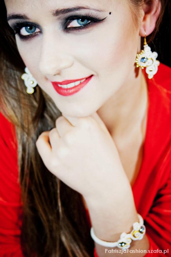 Blogerek biżu i makijaż