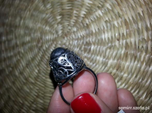 srebrny filigran kopulka Imago Artis unikat