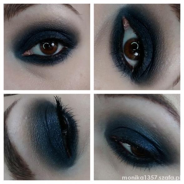 Granat smoky eye...