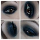 Granat smoky eye