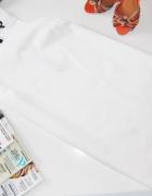 ASOS biała trapezowa zip