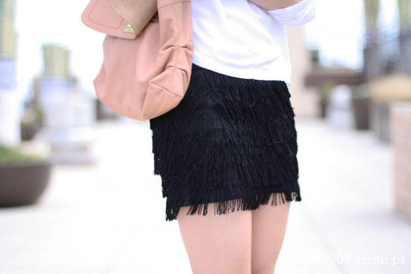 Spódnice ZARA finge shorts spódnico spodnie