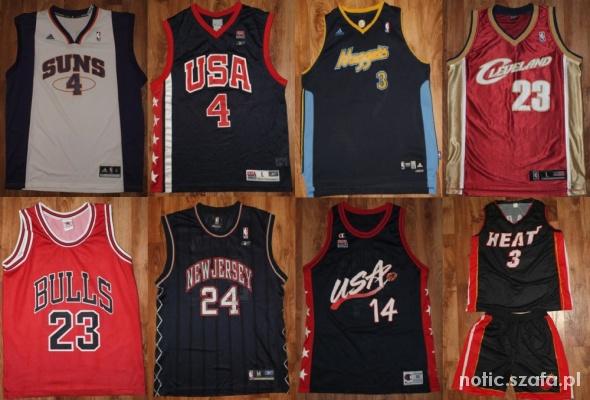 więcej zdjęć całkiem fajne najlepsza cena Koszulki NBA Champion Nike Adidas Reebok Puma w Ubrania ...
