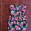 Gorsetowa sukienka tuba tulipan New Look floral