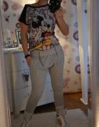 spodnie baggy i myszka