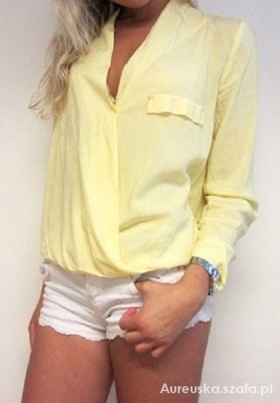 Kopertowa pastelowa koszula