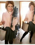 jeszcze raz różowy sweter