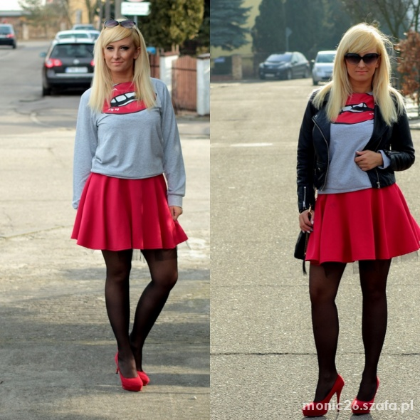 Blogerek Red lips&red shoes