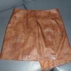 mega oryginalna skórkowa spódniczka