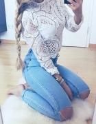 jeans i biel