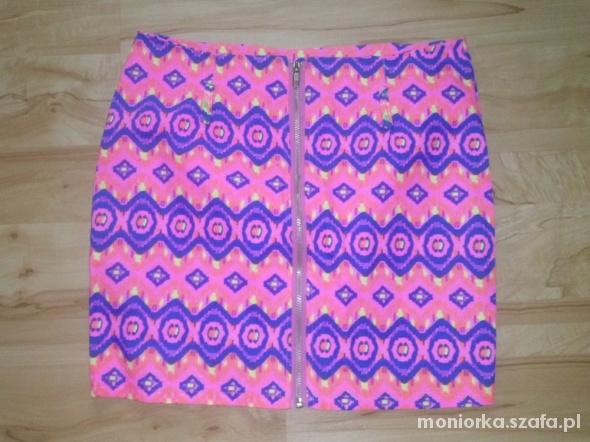 Spódnice Neonowa mini