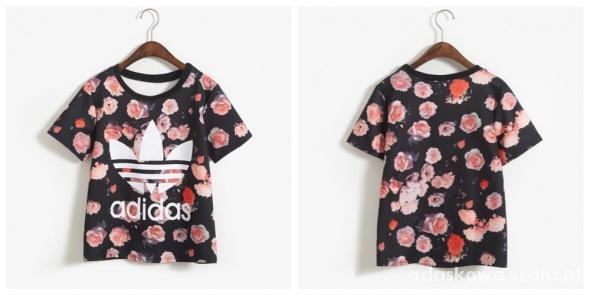 T Shirt Koszulka Adidas Flower Floral