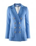 nebieski żakiet H&M