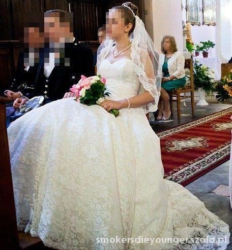 ca181d2391 Suknia ślubna Maggio Ramatti Helios 38 koronka w Suknie ślubne ...