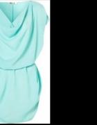 Śliczna miętowa sukienka