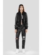 Zipped Varsity Jacket MISBHV...