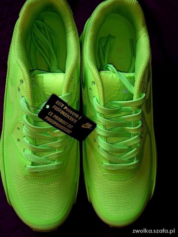 Nike air max neon GLOW IN THE DARK swieca 33 do 41 w