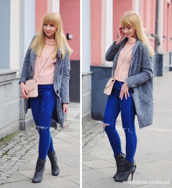 Blogerek Cute pink sweater