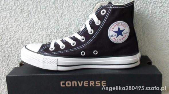 ORYGINALNE trampki Converse wysokie czarne