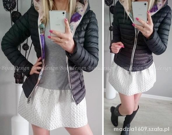 Ubrania kurtka pikowana