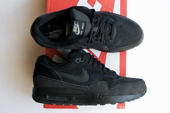 czarne buty Nike Air Max 1 Essential Black Cool Grey