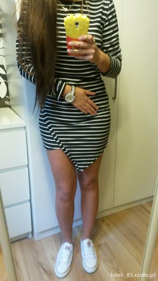 Mój styl sukienka asymetryczna