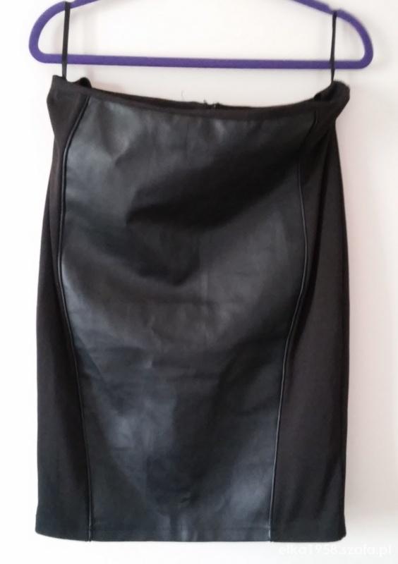 Spódnice Zgrabna spódniczka z ecoskórą 44 46