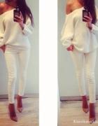 Bluzka Sweterek spodnie komplet