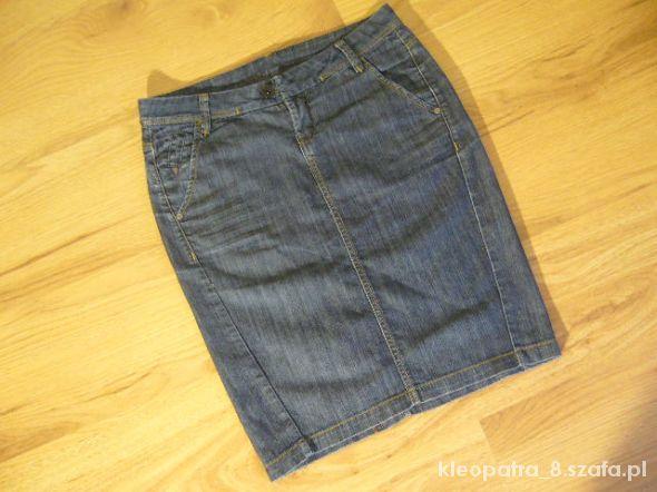MANGO ołówkowa jeansowa 38 40