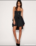 Asos elegancka sukienka asymetrczyna