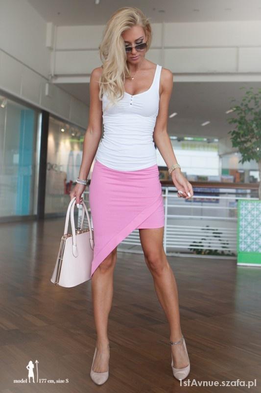 Spódnice Różowa spódniczka