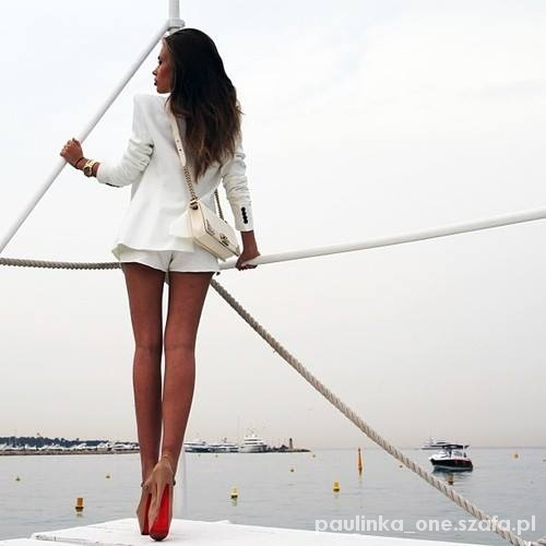 Eleganckie Elegancka stylizacja na lato