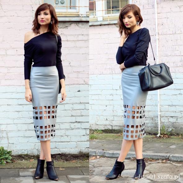 Blogerek Ażurowa spódnica