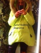 kurtka limonkowa jak ania lewandowska