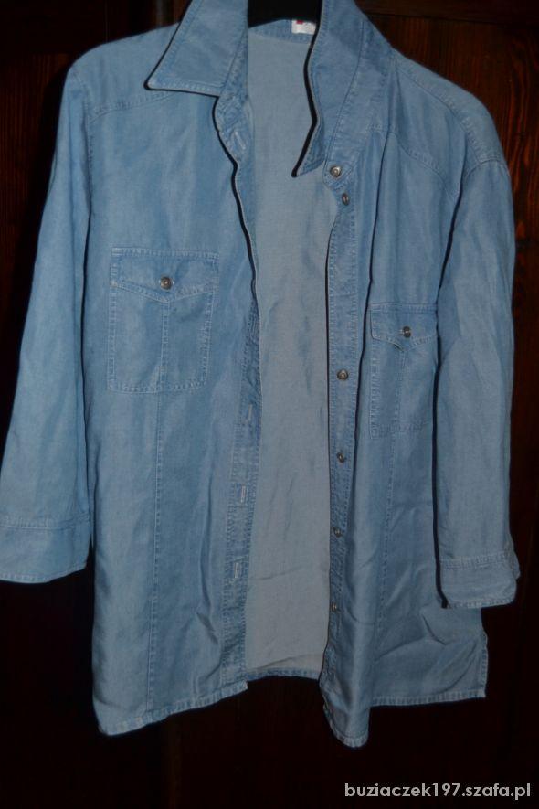 bluzka kolor dżinsu rozmiar 40