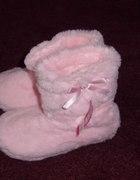 Różowe buciki roz 12 13 NOWE z metką