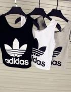 bluzka adidas krótka 3 kolory