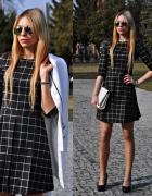 Kraciasta sukienka