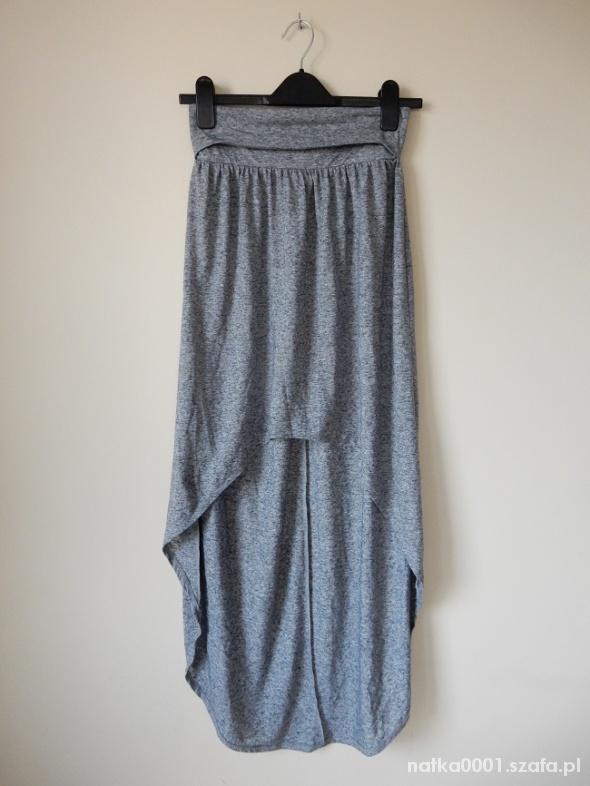 Spódnice Długa Spódnica Asymetryczna Maxi Mini 34 36 XS S