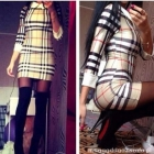 Spódniczka sukienka oraz bluzka