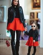 black and red mama i córka