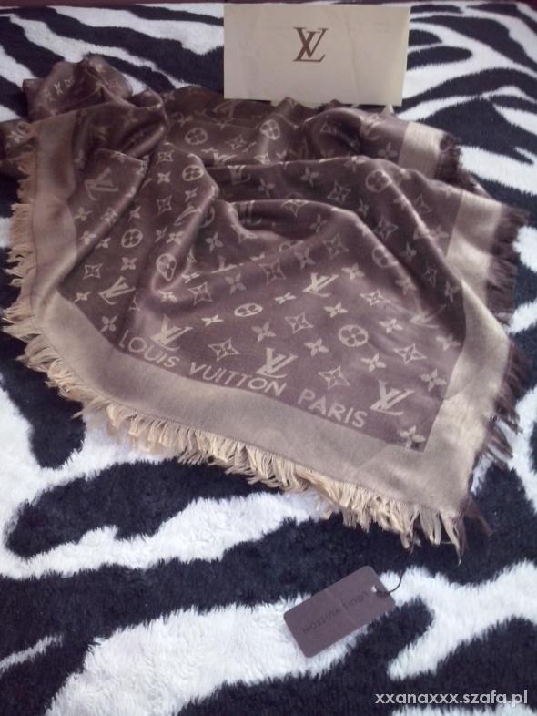 Chusty i apaszki Chusta Louis Vuitton