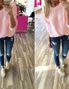 róż i jeans