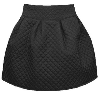 Spódnice Pikowana spódniczka