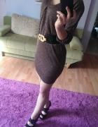 Złota sukienka lub tunika...