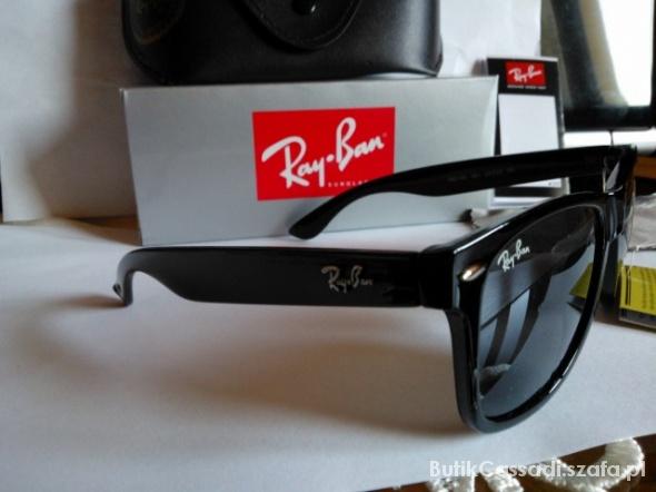 27167f8d93cec8 Okulary Ray Ban Wayfarer 2140 Nowe komplet w Okulary - Szafa.pl