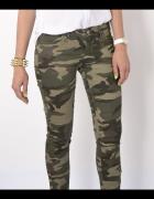 Spodnie moro military rurki