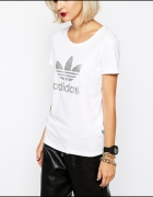 tshirt bluzka koszulka adidas original biały