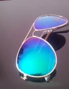 okulary pilotki przeciwsłoneczne a la ray ban